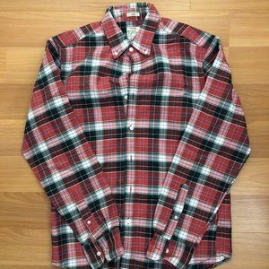 J.CREW WOVEN BUTTON UP SHIRT SIZE SMALL